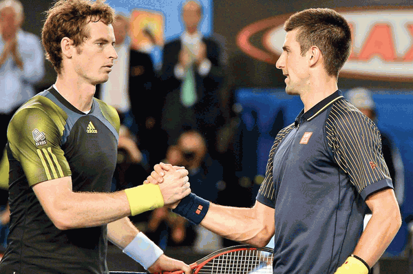 Murray e Djokovic