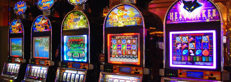 Slot Machines Luzes Casino