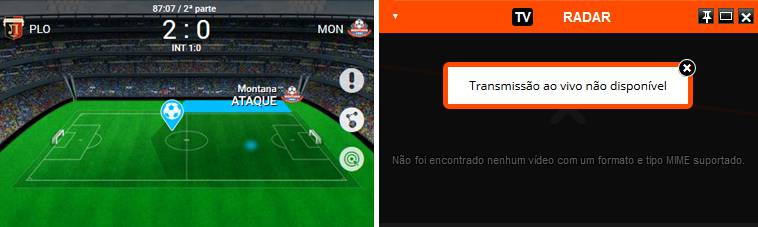 Transmissão Ao Vivo Em Directo Live Streaming Betclic vs Bet.pt